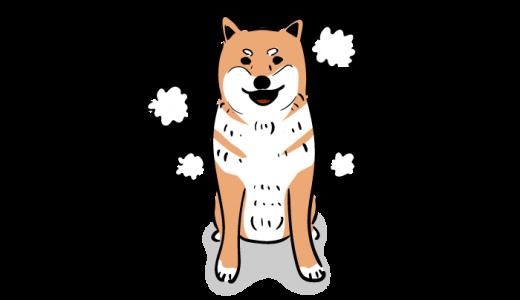 柴犬のフリーイラスト
