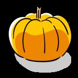 かぼちゃのフリーイラスト