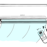 エアコンのフリーイラスト素材