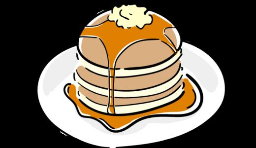 パンケーキのフリーイラスト素材
