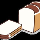 食パンのフリーイラスト素材